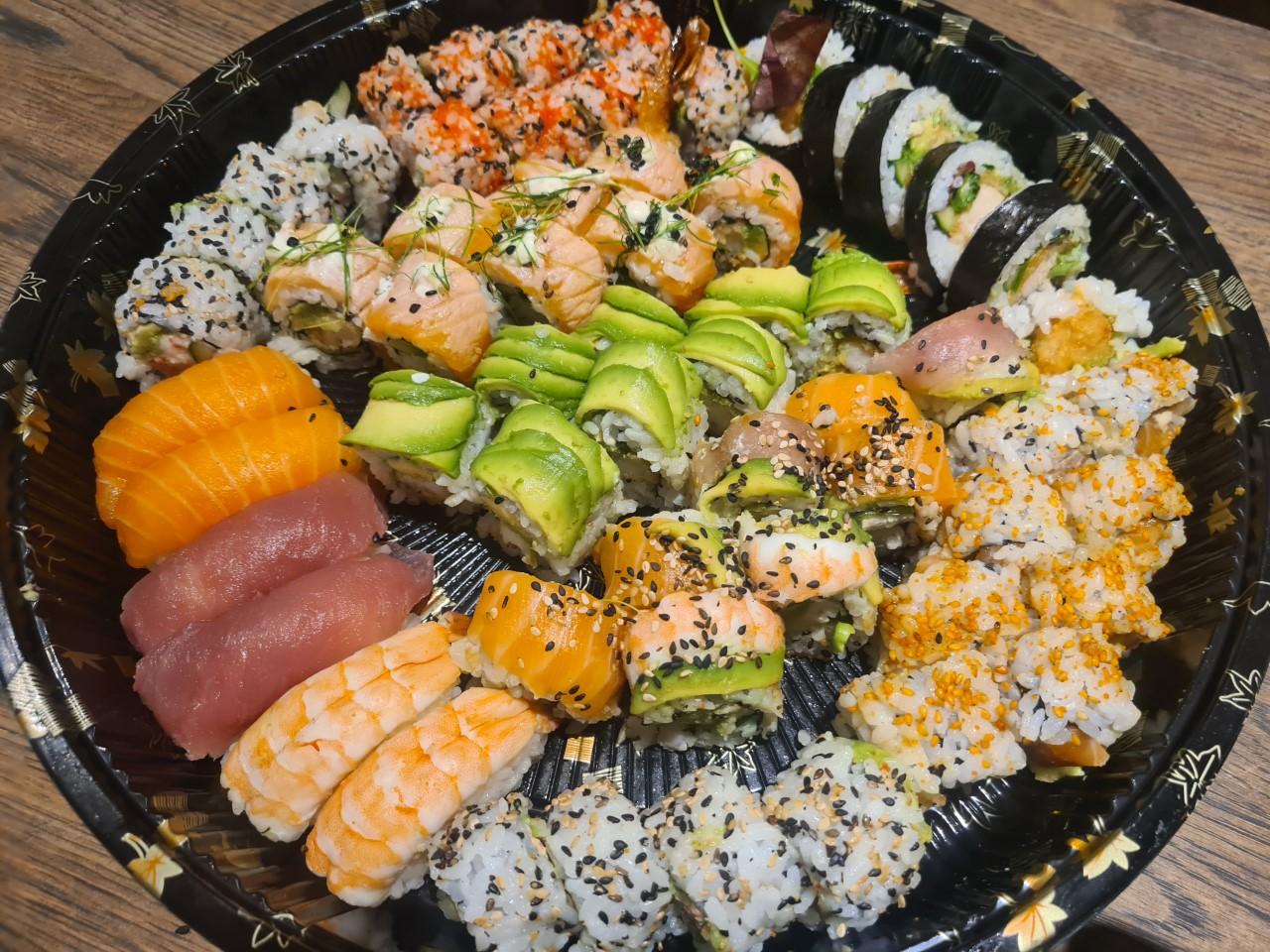 Nytårsmenu, 2020 Ringkøbing Sushi